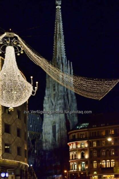 Stephansdom, Wien, Lichter im Advent, www.fotomoldan.at, © Bernd Moldan (07.12.2013)