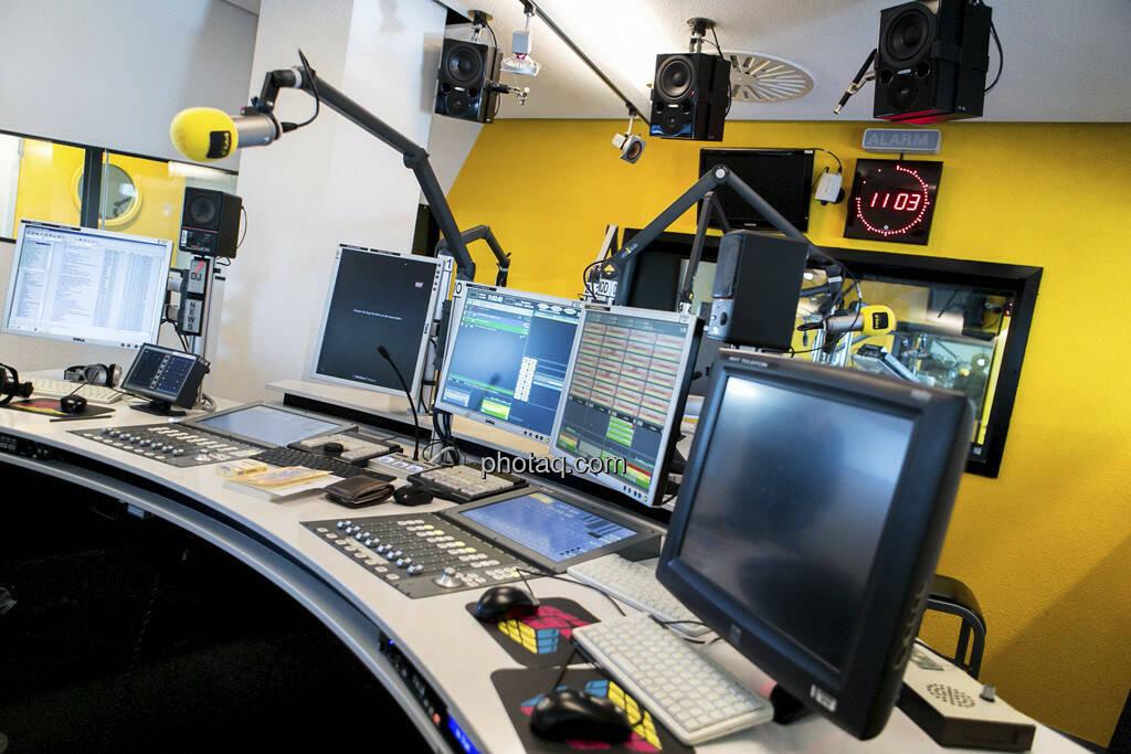 FM4 Studio, © Martina Draper (15.12.2012)