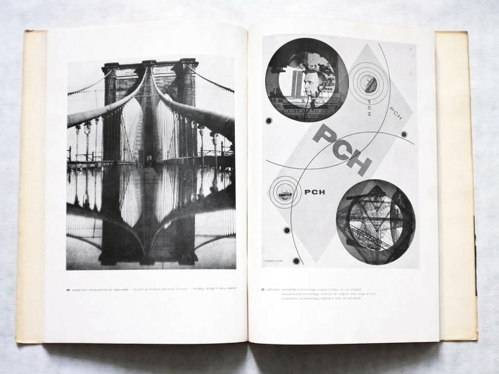 eine Seite aus Franz Roh - Foto-Auge, Oeil et Photo, Photo-Eye, Preis 500-1000 Euro http://josefchladek.com/book/franz_roh_-_foto-auge_oeil_et_photo_photo-eye (08.12.2013)