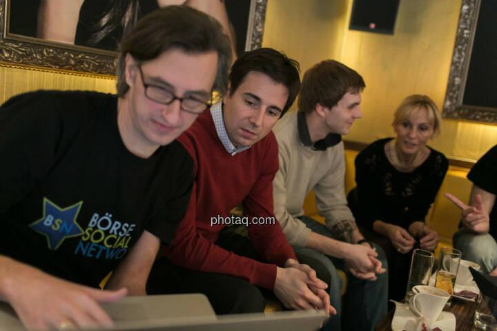Josef Chladek, Igor Huic (Donau Invest), Chris Mattura (Investment Banking / Venture Capital), Isabella de Krassny (Donau Invest)