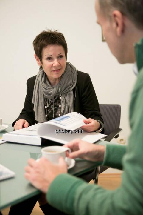 Margarita Hoch (Sanochemia Pharmazeutika AG), Christian Drastil