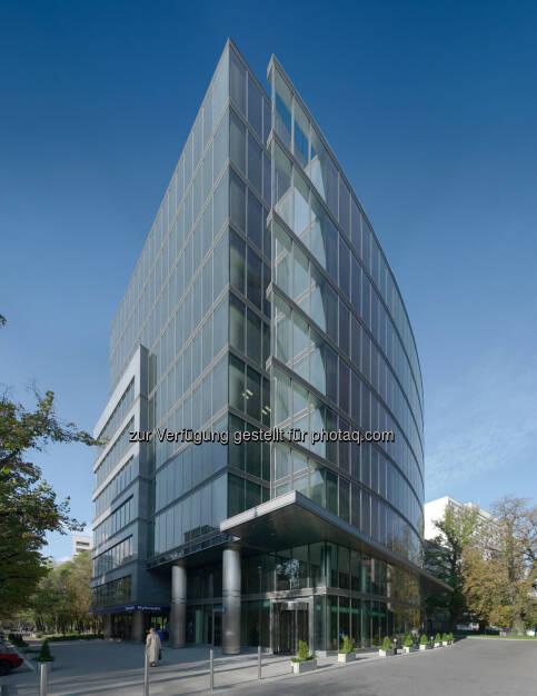CA Immo erwirbt Anteile von JV-Partner AXA am P1-Portfolio in Warschau,  (Bild:  Bürogebäude Saski Crescent, (C) CA Immo) (13.12.2013)