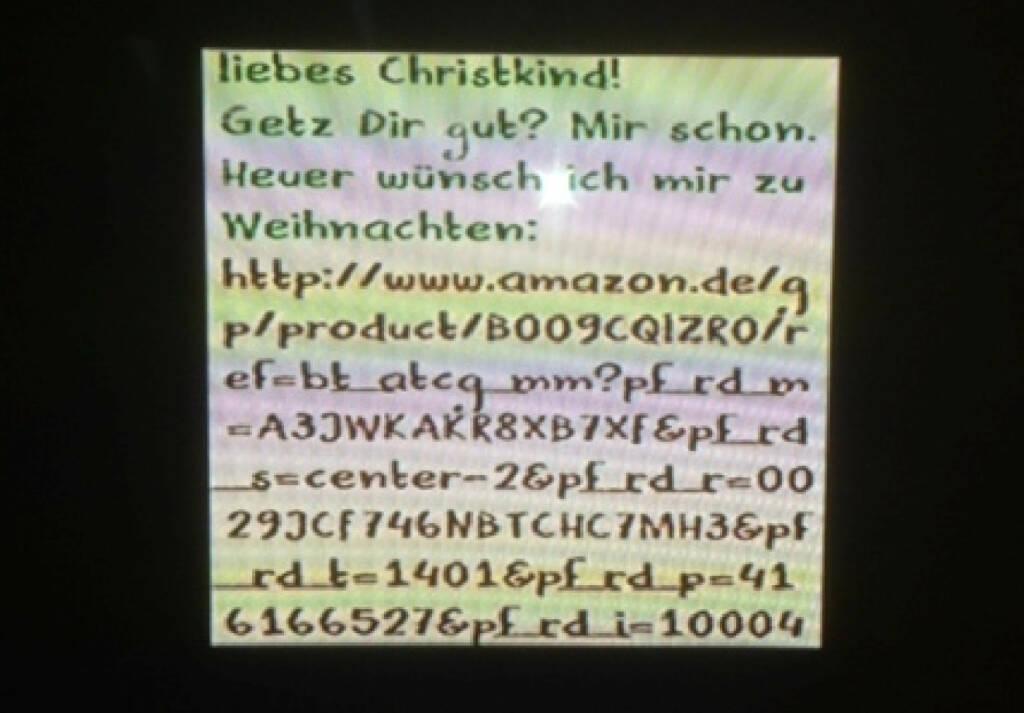 Brief an das Christkind 2013 (by Stermann / Grissemann) (18.12.2013)
