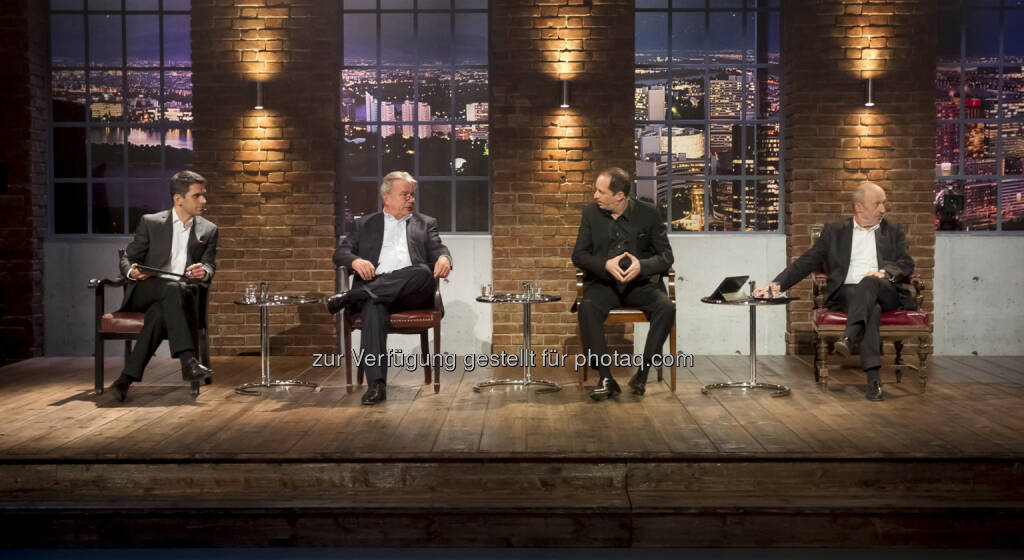 Michael Altrichter, Hans-Peter Haselsteiner, Daniel Mattes, Hansi Hansmann © Gerry Frank Photography 2013 (18.12.2013)