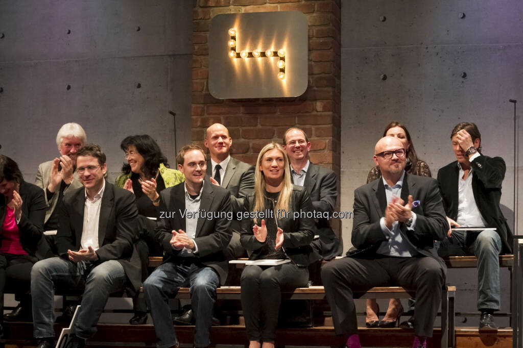 Margit Bollenberger, Benjamin Roth, Alexander Patka, Thomas Polak, vordere Reihe: Romana Fink © Gerry Frank Photography 2013 (18.12.2013)