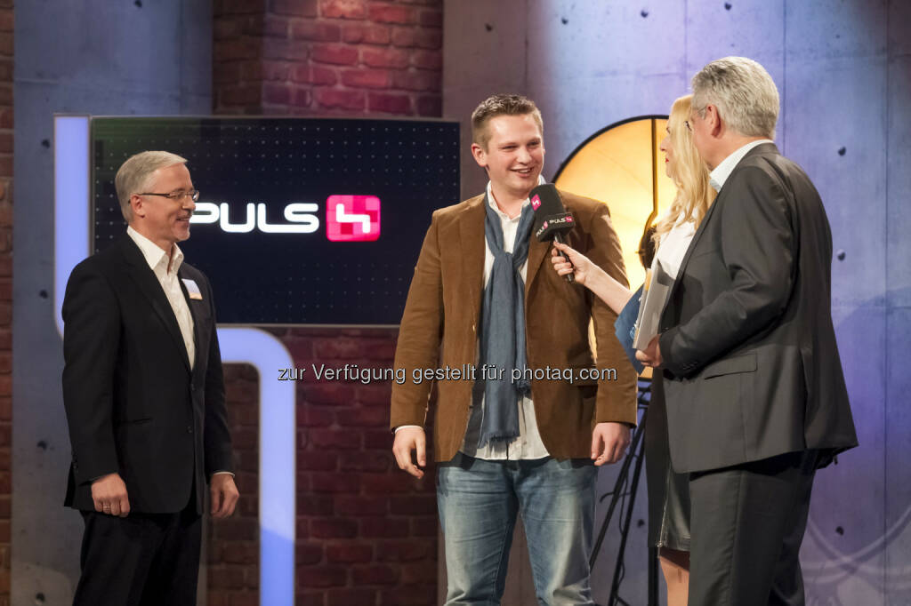 Frank Hoffmann, Kevin Pajestka, Sonya Kraus, Johannes Bischof © Gerry Frank Photography 2013 (18.12.2013)