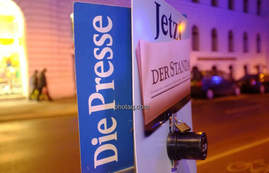Die Presse, Der Standard (22.12.2013)
