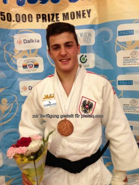 café+co Samurai Marko Bubanja holt sich Bronze bei der U18 Jugend WM in Miami (© café+co Samurai) (27.12.2013)