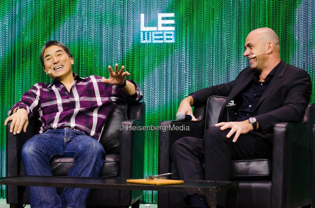 Guy Kawasaki and Loïc Le Meur – LeWeb Paris – Paris, France, December 10, 2013, © Heisenberg Media (05.01.2014)