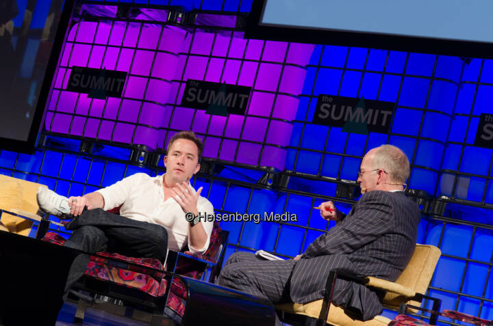Drew Houston and Ben Rooney – The Summit – Dublin, Ireland, October 31, 2013
