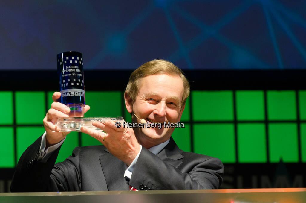 Enda Kenny – Irish Prime Minister / Taoiseach – The Summit – Dublin, Ireland,October 30, 2013, © Heisenberg Media (05.01.2014)