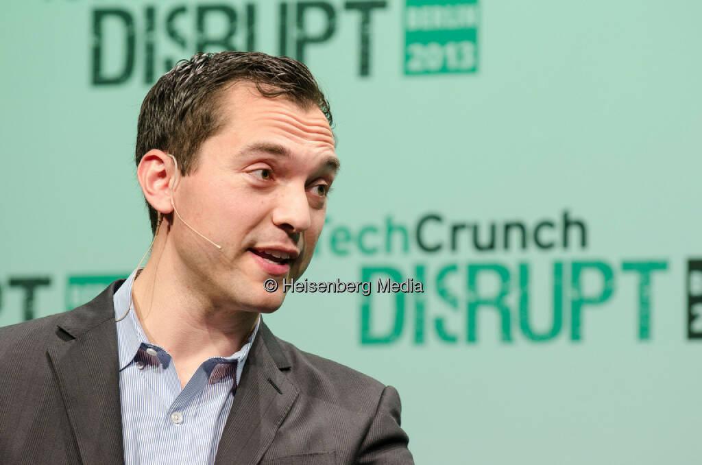 Nate Blecharczyk – TechCrunch Disrupt Europe – Berlin, Germany, October 28, 2013, © Heisenberg Media (05.01.2014)