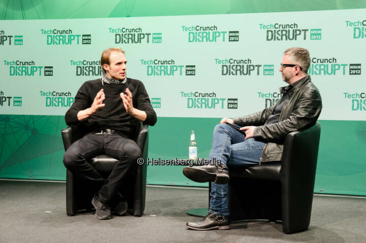 Marc Samwer and Mike Butcher – TechCrunch Disrupt Europe – Berlin, Germany, October 28, 2013