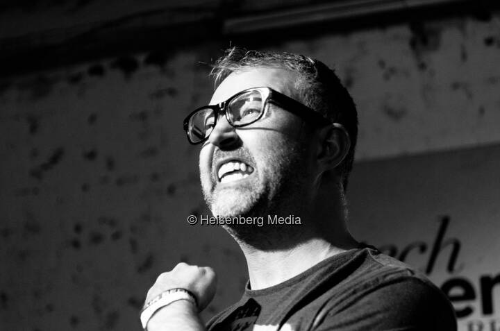 Mike Butcher – Tech Open Air Berlin – Berlin, Germany, August 1, 2013