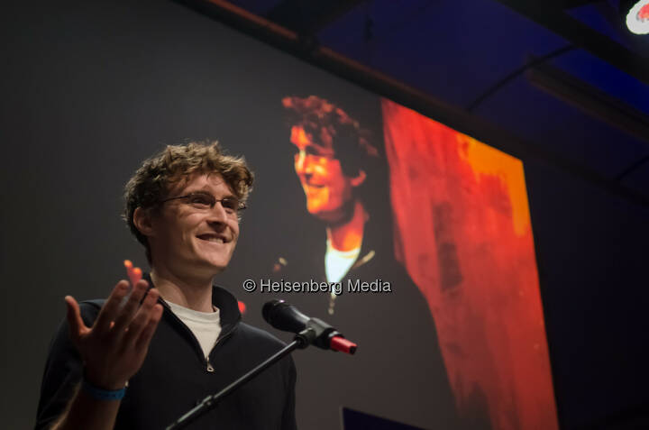 Paddy Cosgrave – The Europas – Berlin, Germany, January 22, 2013