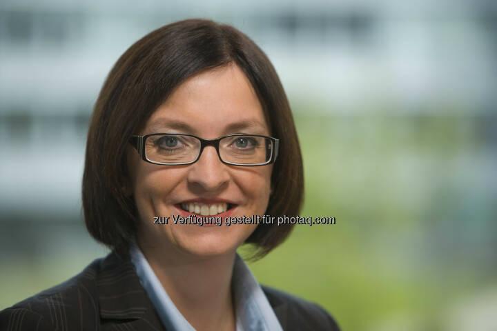Karin Sonnenmoser: Der Aufsichtsrat der Zumtobel AG hat sie zum neuen Finanzvorstand der Zumtobel AG ernannt. Die 44-jährige Diplom-Kauffrau wurde für drei Jahre bestellt und wird ihre Tätigkeit zum 1. Mai 2014 aufnehmen (c) Zumtobel