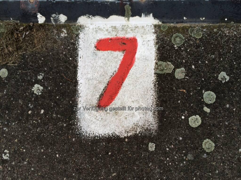 Sieben, 7, © Martina Draper (10.01.2014)