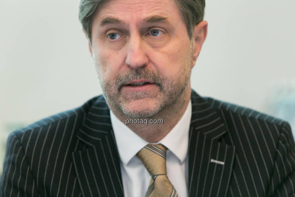 Bruno Ettenauer, Vorstandsvorsitzender der CA Immo (CEO), © finanzmarktfoto.at/Martina Draper (14.01.2014)