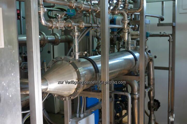 Grüne Bioraffinerie Pilotanlage zur Herstellung von Aminosäuen (c) gruene-bioraffinerie.at GmbH