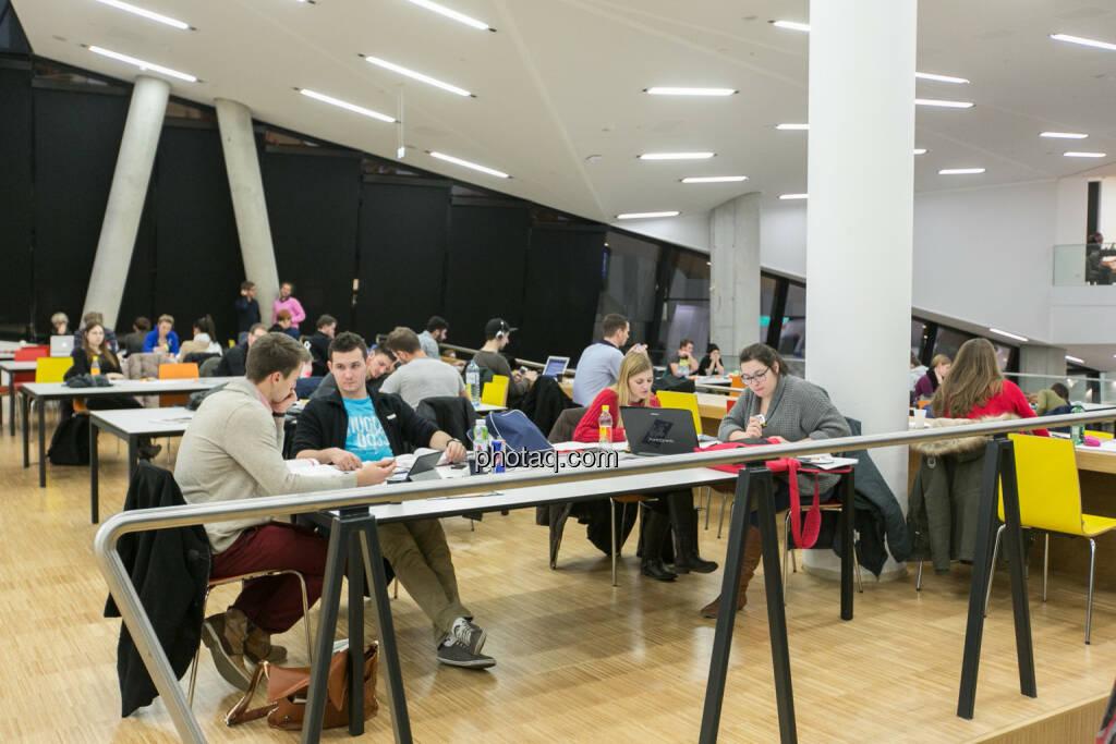Studenten, WU-Campus (17.01.2014)