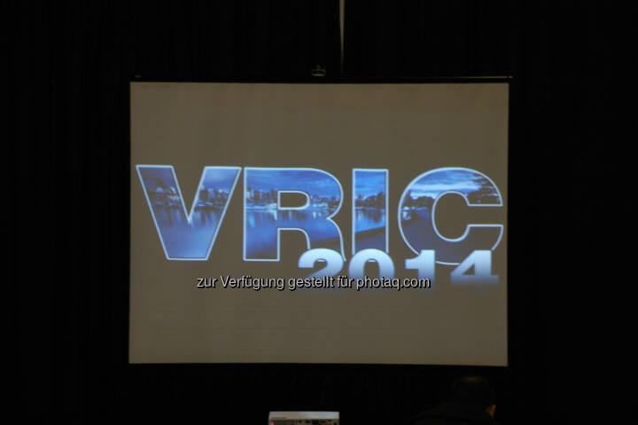 VRIC14 Presentation