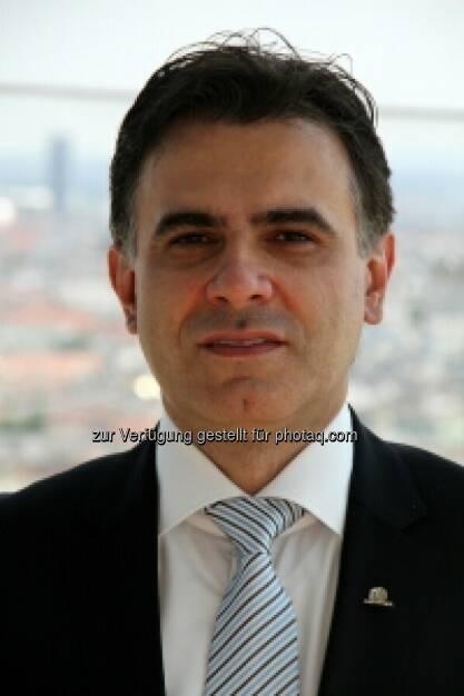 Zoran Visnjic, Mitglied des Vorstands, Uniqa International AG: In Serbien hat Uniqa das 3. Quartal 2013 mit einem Marktanteil von 7,3 Prozent abgeschlossen. Damit konnte Uniqa Serbien das größte Wachstum der fünf größten Versicherungen des Landes verzeichnen (c) Uniqa (20.01.2014)