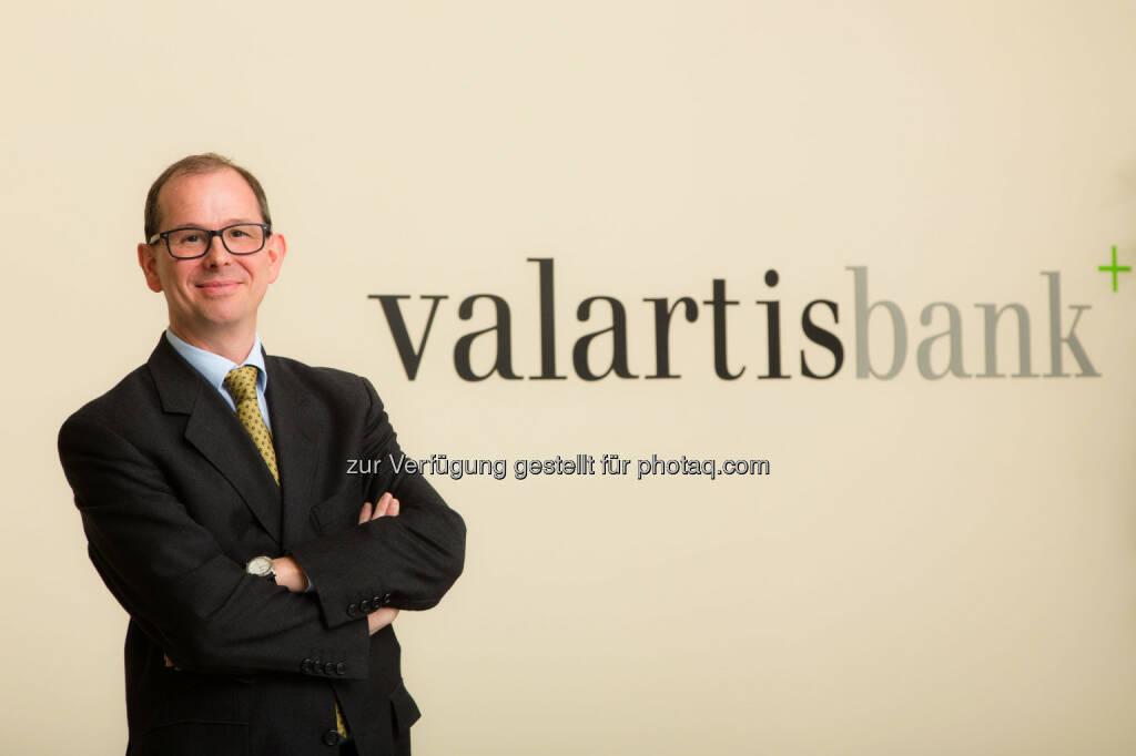 Alexander Patka (49), übernimmt ab sofort die Leitung der Abteilung Treasury bei der Valartis Bank (Austria) AG. Er  bringt weitreichende Erfahrung und Expertise in den Bereichen Treasury & Capital Markets sowie Asset Management mit (c) Valartis (22.01.2014)