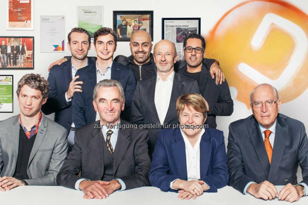 Ali Mahlodji´s whatchado hat mit Brigitte Ederer (Ex-Siemens), Peter Püspök (OikoCredit) und Claus Raidl (Ex-Böhler-Chef) prominente Investoren bekommen (24.01.2014)