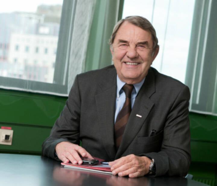 Richard Schenz, Ex-Kapitalmarktbeauftragter, langjähriger OMV-CEO (25. Jänner), finanzmarktfoto.at wünscht alles Gute!