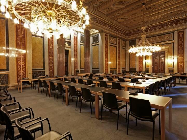 Parlament - Budgetsaal