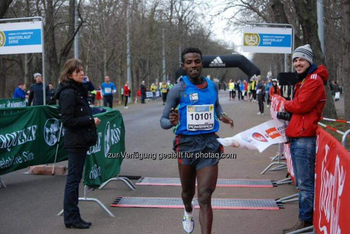 Lemawork Ketema, Sieger Halbmarathon, VCM Winterlauf 1, viele weitere Bilder unter: http://www.maxfun.at/videos/bilder.php?aid=1367