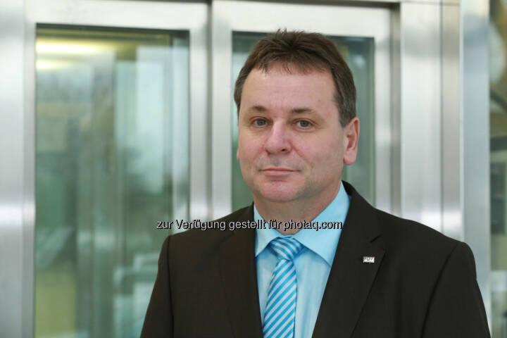 Thomas Maldet  ist der neue Chef der Aufzugstechnik beim TÜV Austria (C) TÜV Austria