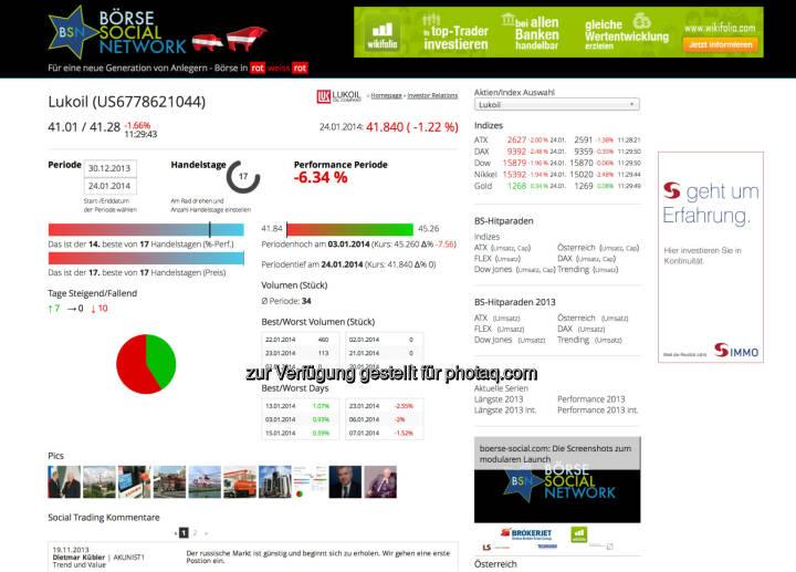 Die Lukoil-Sicht im Börse Social Network http://boerse-social.com/launch/aktie/lukoil bzw. die Bildersicht unter http://finanzmarktfoto.at/page/index/948