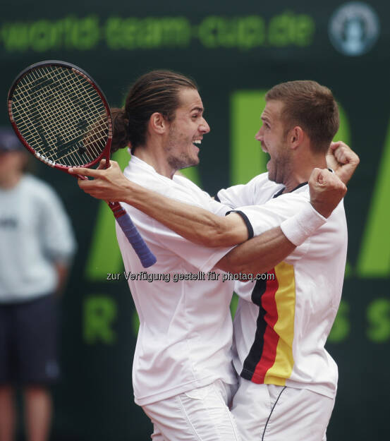 Tommy Haas und Alex Waske, (C) L. Perenyi (29.01.2014)