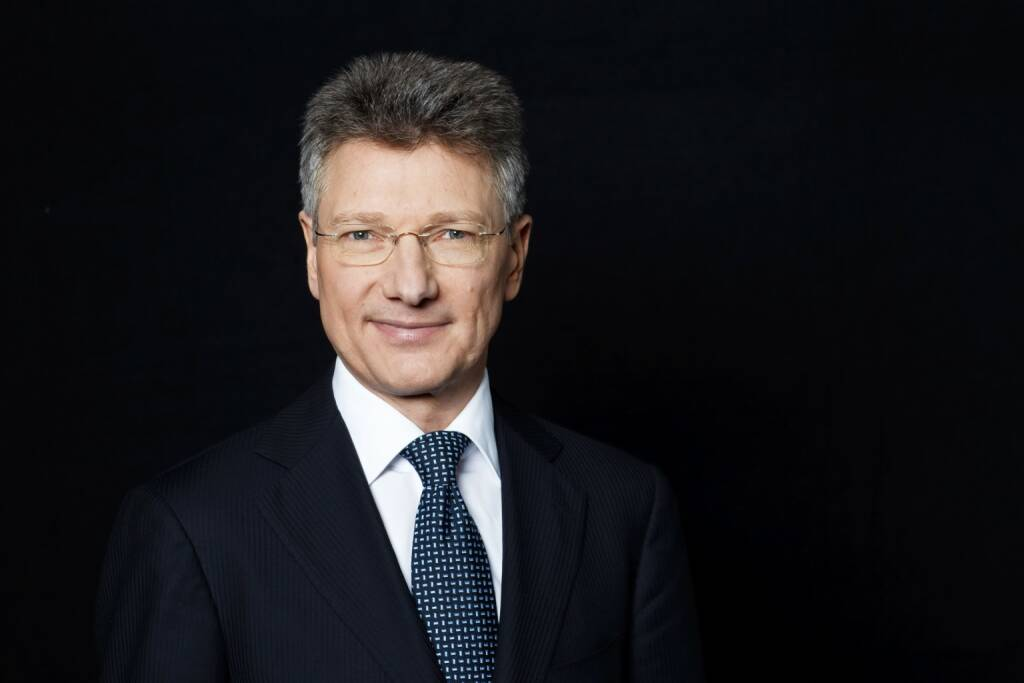 Elmar Degenhart, Vorsitzender des Vorstands; Unternehmenskommunikation; Qualitaet und Umwelt Konzern; Continental Business System; Zentralfunktionen Automotive; Division Chassis & Safety (komm.), © Continental AG (Homepage) (03.02.2014)