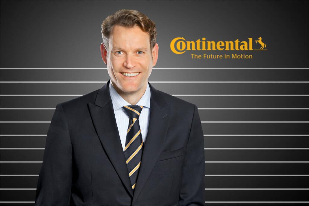 Nikolai Setzer, Mitglied des Vorstands, Division Reifen       , © Continental AG (Homepage) (03.02.2014)