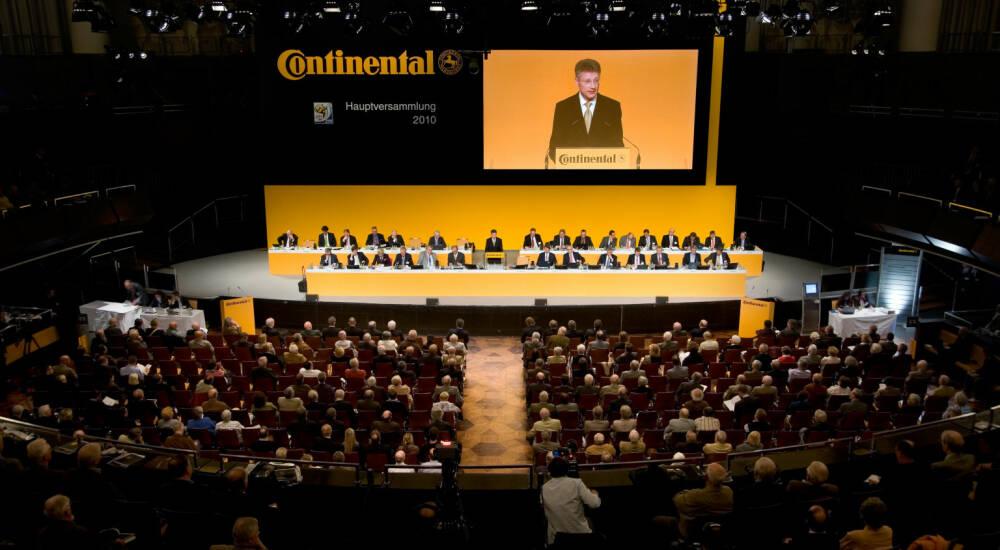 Continental Hauptversammlung
