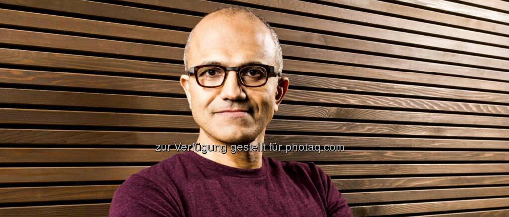 Satya Nadella wird neuer Vorstandschef von Microsoft. Der indischstämmige Manager war zuvor für das Firmenkunden- und Cloud-Geschäft zuständig. (C) Microsoft Homepage (04.02.2014)