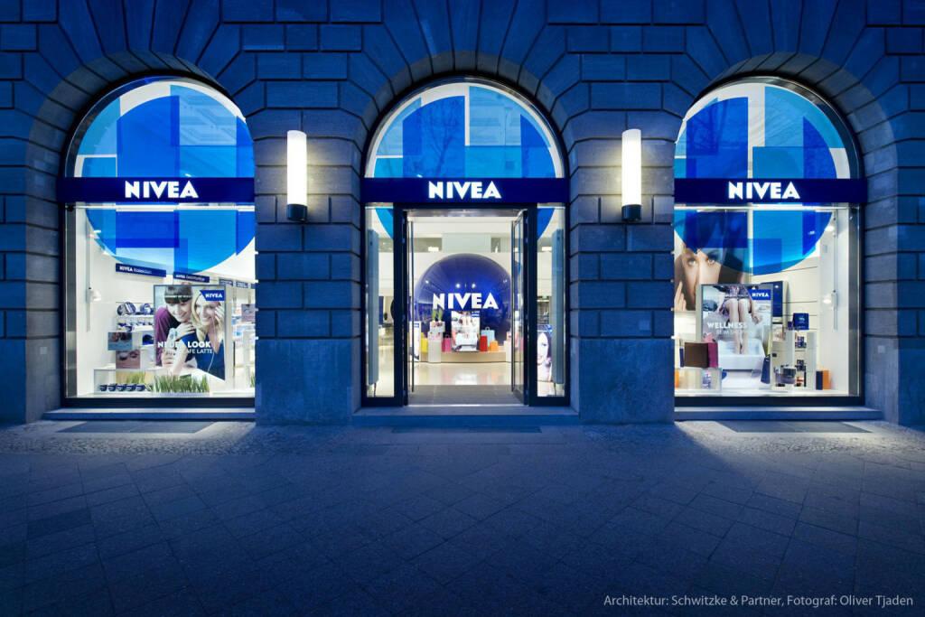 NIVEA Haus Berlin, Beiersdorf, © Beiersdorf AG (Homepage) (06.02.2014)