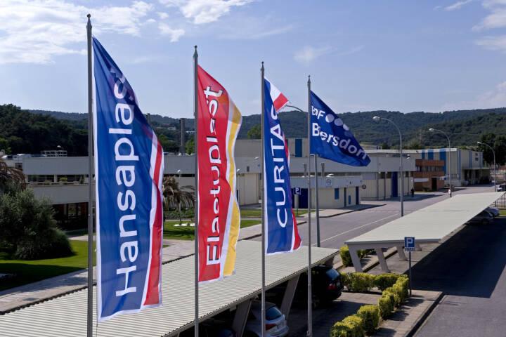 Hansaplast Produktion in Spanien, Beiersdorf