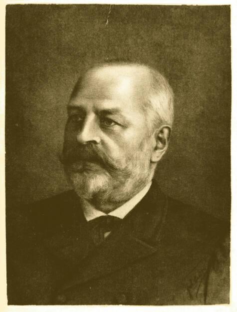 Paul C. Beiersdorf, Gründer des Unternehmens um 1885, © Beiersdorf AG (Homepage) (06.02.2014)