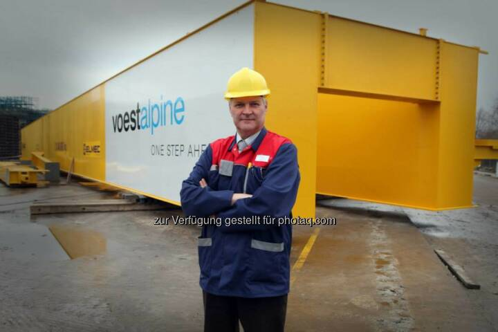 Sondertransport voestalpine Polynorm