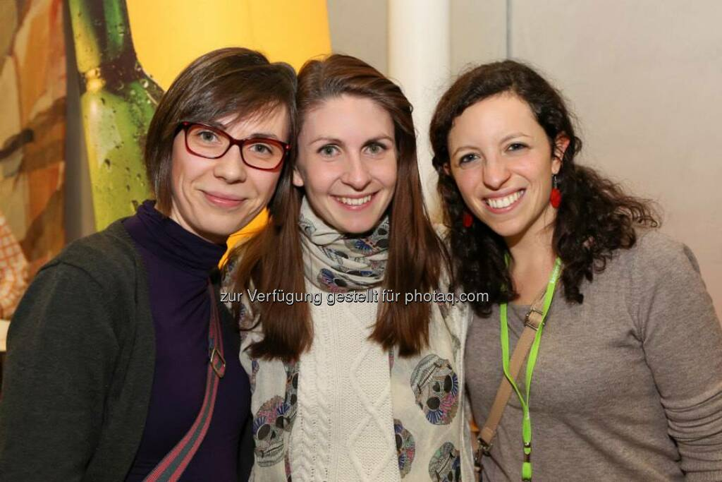 Laura Lassar, Monika Thomasberger, Ivana Barić Gašpar (Bild: Katharina Schiffl) (10.02.2014)