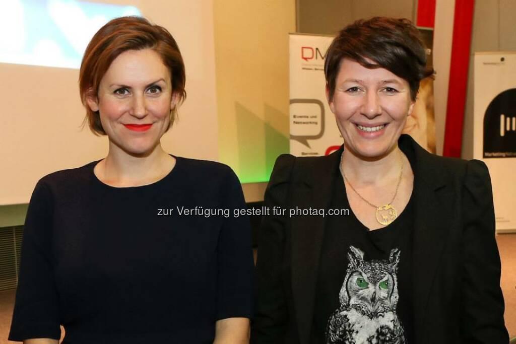 Dani Terbu, Katja Hentschel (Bild: Katharina Schiffl) (10.02.2014)