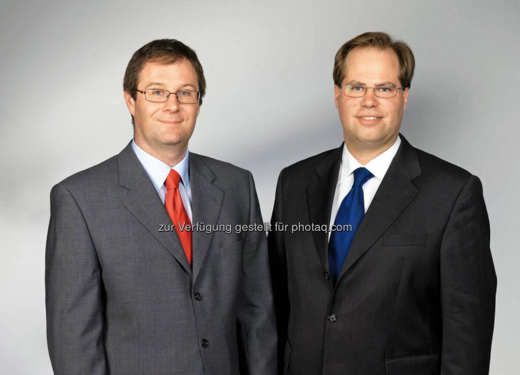 Markus Kitz-Augenhammer & Mathias Mühlhofer, Vorstände der Immobilienrendite AG. Immobilienrendite AG zahlt 2013 1,2 Mio. Euro an Investoren aus. (11.02.2014)