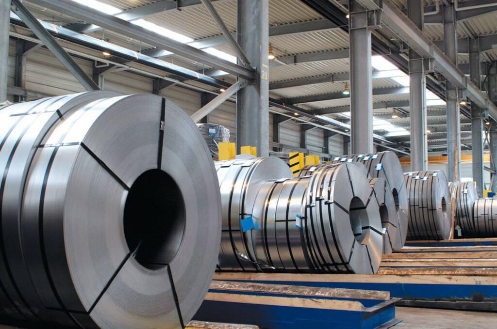 Coils in verschiedenen Größen, Klöckner & Co SE, © Klöckner & Co (Homepage) (13.02.2014)