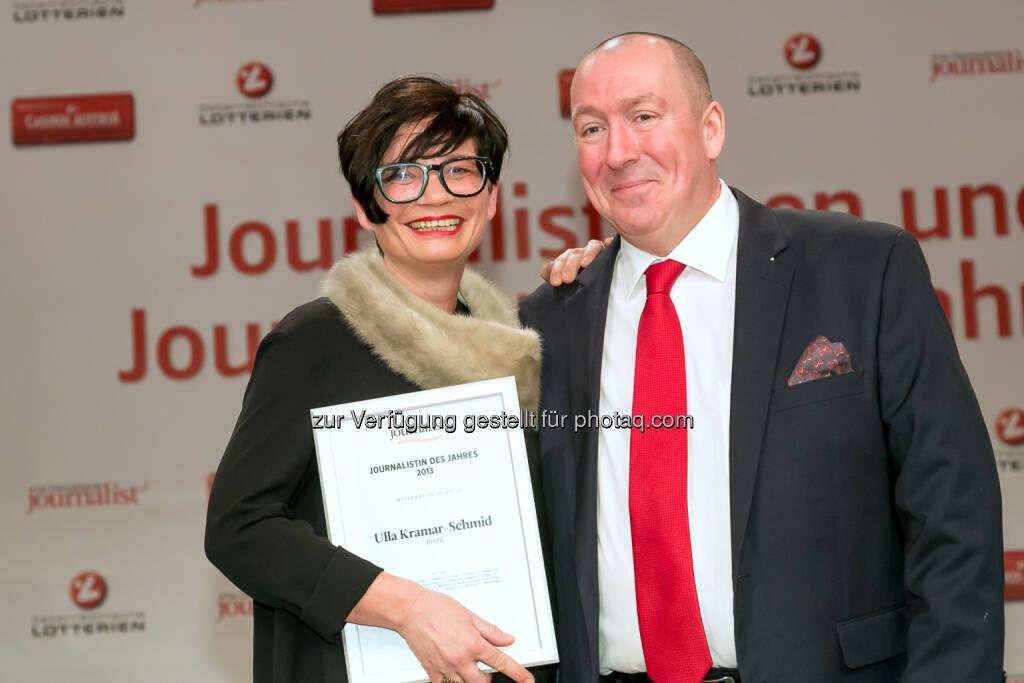 "Ulla Kramar-Schmid (profil), Georg Taitl (""Der Österreichische Journalist""), © Der österreichische Journalist/APA-Fotoservice/Schedl (13.02.2014)"