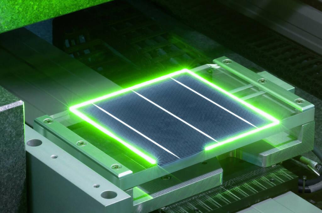 cSi - Laser - Laserkantenisolation, Manz AG, © Manz AG (Homepage) (14.02.2014)