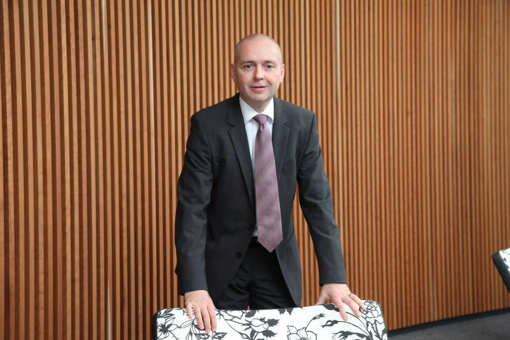 Martin Hipp, Vorstand Finanzen, Manz AG, © Manz AG (Homepage) (14.02.2014)