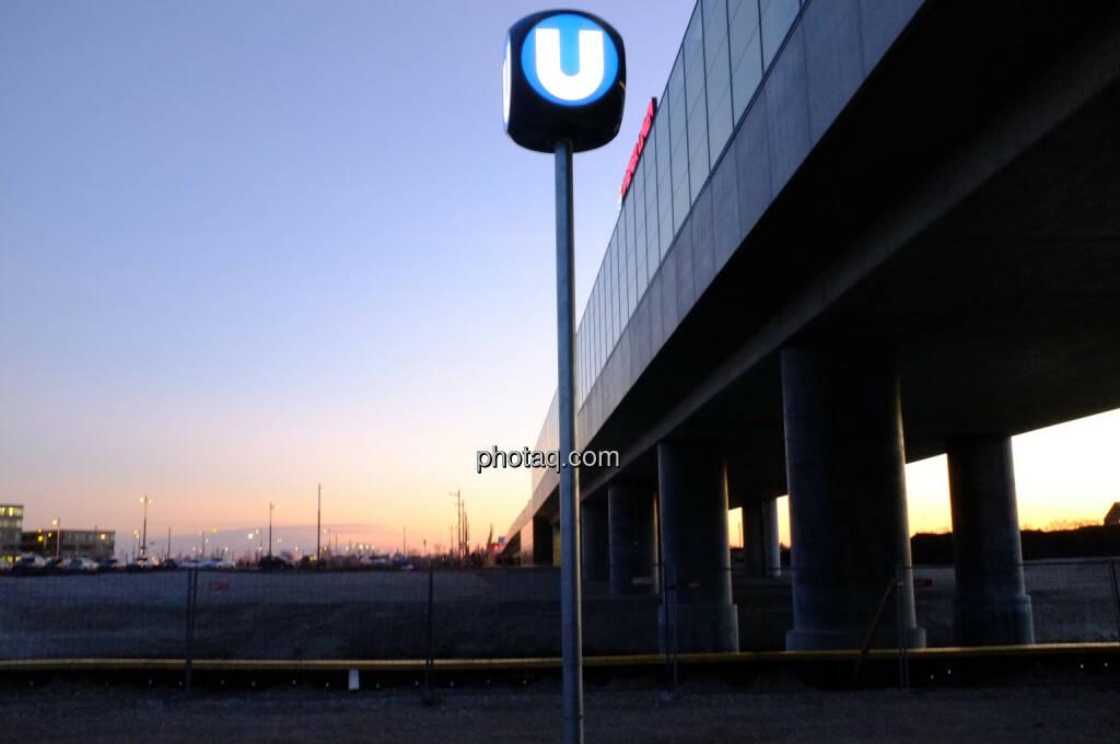 U-Bahn Seestadt Aspern (15.02.2014)